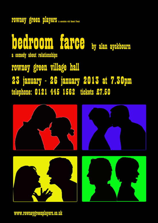 Bedroom Farce by Alan Ayckbourn
